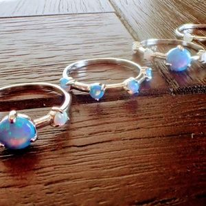 Jewelry - 🌺4 STERLING SILVER RINGS🌺